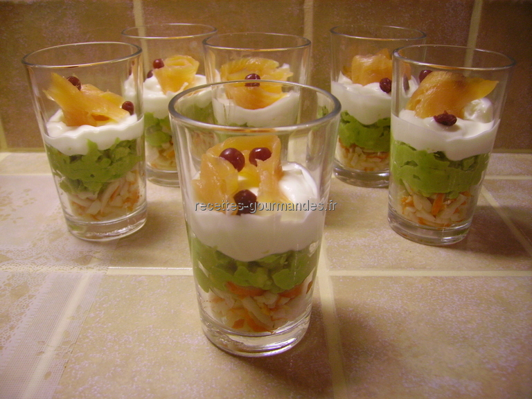 verrines recettes gourmandes